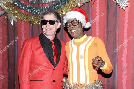 DJ Lance Rock and Tom Kenny