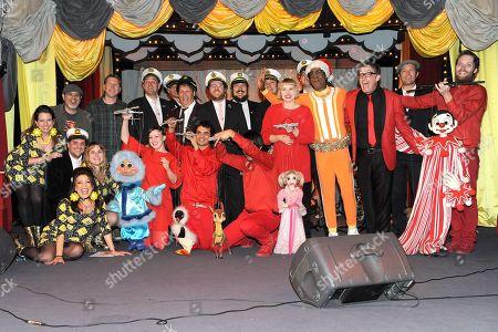 DJ Lance Rock, Tom Kenny and Bob Baker Marionettes