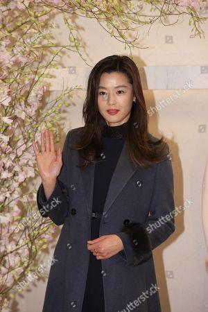 Gianna Jun attends Missha promotion conference
