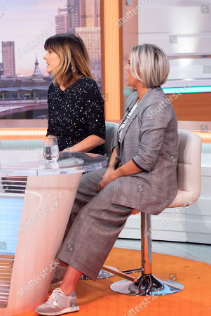 Annabel Giles and Kerry Katona