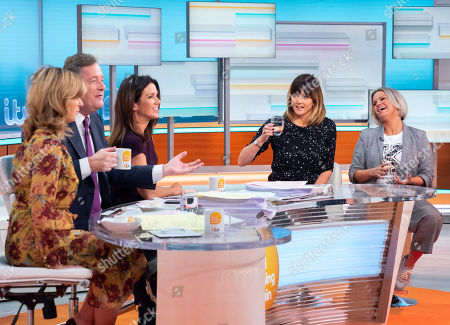 Kate Garraway, Piers Morgan, Susanna Reid, Annabel Giles and Kerry Katona