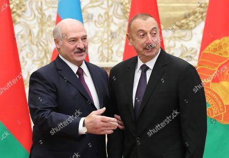 President of Azerbaijan Ilham Aliyev visit to Belarus