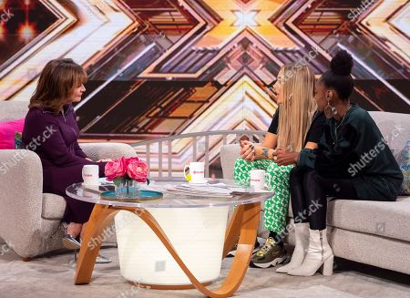 Lorraine Kelly, Bella Penfold and Shan Ako