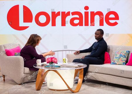 Lorraine Kelly and Andy Cole