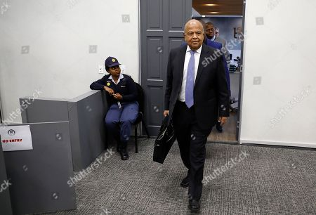 Stock Photo of Former Finance Minister Pravin Gordhan arrives to testify at the State Capture Inquiry in Johannesburg, South Africa, 19 November 2018. The now Public Enterprises Minister Pravin Gordhan is appearing in front of the inquiry as part of an ongoing investigation into the state capture of government SEO and other organs of the state by former President Jacob Zuma and his political allies.