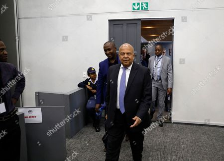Editorial picture of State Capture Inquiry in Johannesburg, South Africa - 19 Nov 2018