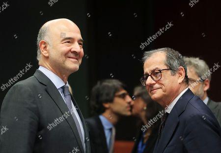 EU Eurogroup Finance Ministers meeting, Brussels