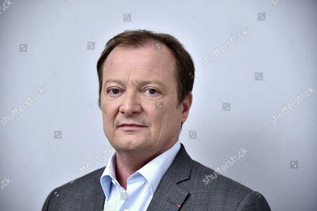 Editorial photo of Stephane Peu, Depute PCF de Seine-Saint-Denis, Paris, France - 18 Nov 2018