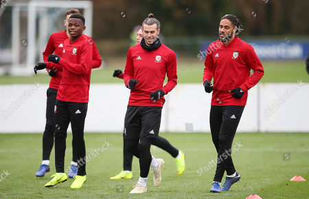 Wales training, Cardiff