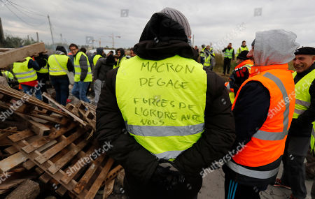'Gilets Jaunes' protest against rising fuel prices in France