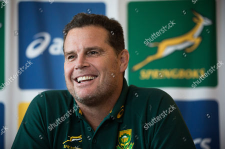 South Africa press conference, Cardiff