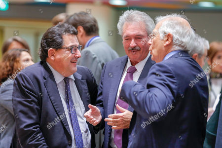 Marco Aguiriano, Jean Asselborn, Josep Borrell