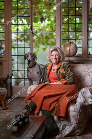 Anne Atkins at home in Bedford.