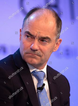 Warren East, Chief Executive of Rolls Royce PLC, at The Confereration of British Industry (CBI) conference at the Intercontinental Hotel in North Greenwich.