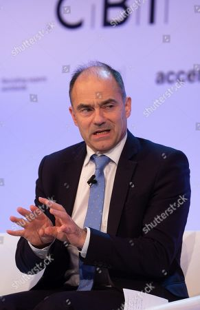 Stock Picture of Warren East, Chief Executive of Rolls Royce PLC, at The Confereration of British Industry (CBI) conference at the Intercontinental Hotel in North Greenwich.