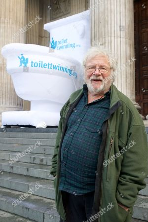 Toilet Twinning's Big Squat at St Paul's Cathedral, London