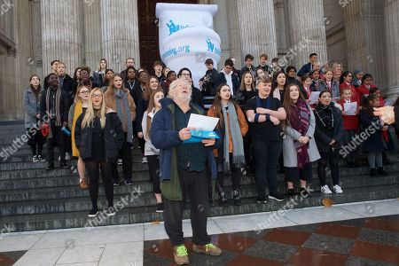 Editorial picture of Toilet Twinning's Big Squat at St Paul's Cathedral, London, UK - 19 Nov 2018