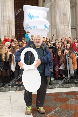 Editorial photo of Toilet Twinning's Big Squat at St Paul's Cathedral, London, UK - 19 Nov 2018