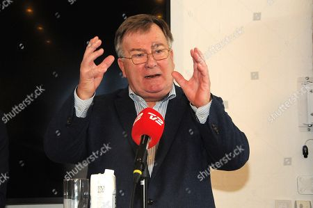 Claus Hjort Frederiksen speaking during a press conference