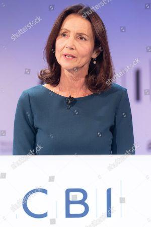 Director General of the Confederation of British Industry (CBI) Carolyn Fairbairn speech at the annual CBI Conference in London, Britain, 19 November 2018.