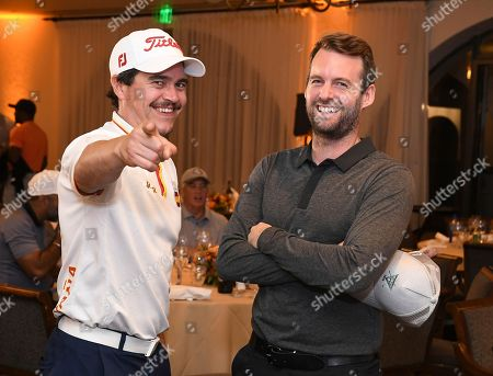 Arturo Del Puerto, David Coupland. Arturo Del Puerto and David Coupland attends the 19th Annual Emmys Golf Classic at the Wilshire Country Club on in Los Angeles