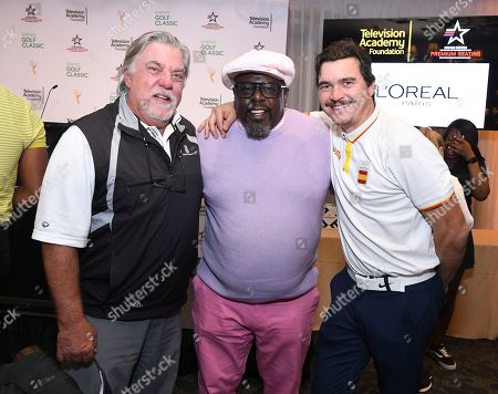 Bruce McGill, Cedric the Entertainer, Arturo Del Puerto. Bruce McGill, Cedric the Entertainer, and Arturo Del Puerto attends the 19th Annual Emmys Golf Classic at the Wilshire Country Club on in Los Angeles