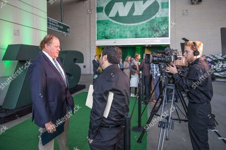 Chris Berman attends the New York Jets Super Bowl III 50th anniversary dinner at MetLife Stadium, in East Rutherford, N.J
