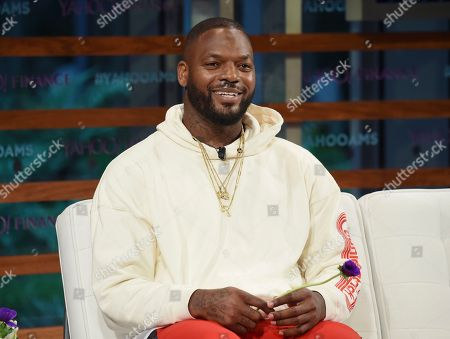 The Imagination Agency CEO Martellus Bennett participates in the Yahoo Finance All Markets Summit: A World of Change at The TimesCenter, in New York