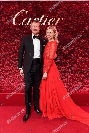 Stock Photo of Laurent Feniou and Nadya Abela