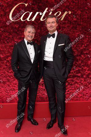 Jeremy Hackett and Laurent Feniou