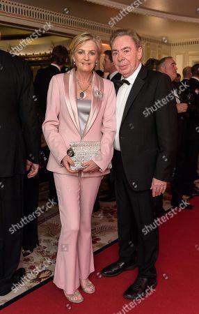 Lady Madeleine Lloyd Webber and Lord Sir Andrew Lloyd Webber