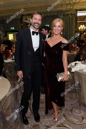 Patrick Grant and Sarah-Jane Mee