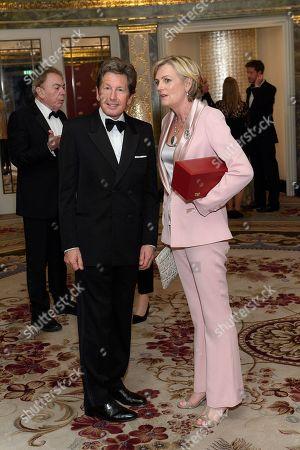 John Warren and Lady Madeleine Lloyd Webber