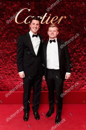 Stock Image of Jake Warren and Lord Porchester
