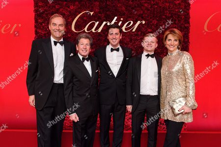 Editorial picture of Cartier Racing Awards, The Dorchester, London, UK - 13 Nov 2018