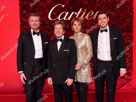 Laurent Feniou, John Warren, Lady Carolyn Warren and Jake Warren
