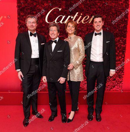 Editorial image of Cartier Racing Awards, The Dorchester, London, UK - 13 Nov 2018