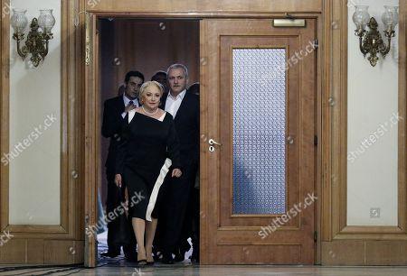Editorial picture of Romanian Prime Minister Viorica Dancila reshuffles her cabinet, Bucharest, Romania - 19 Nov 2018