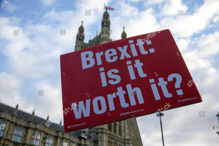 Anti Brexit protest, London