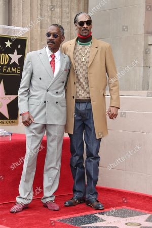Stock Photo of Snoop Dogg and Vernell Varnado