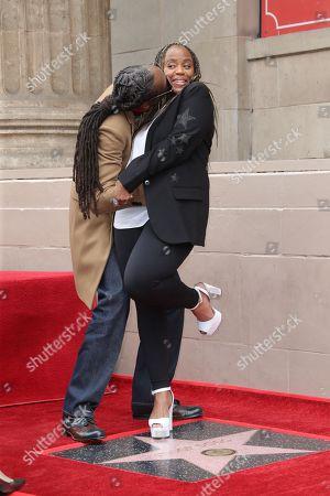 Snoop Dogg and Shante Taylor