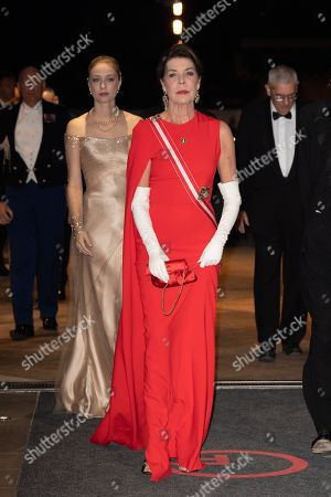 Princess Caroline of Hanover and Beatrice Borromeo