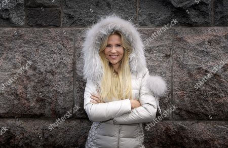 Editorial photo of Swedish author Liza Marklund Portrait, Helsinki, Sweden - 05 Oct 2018