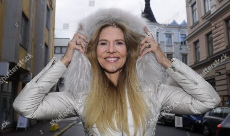 Editorial image of Swedish author Liza Marklund Portrait, Helsinki, Sweden - 05 Oct 2018