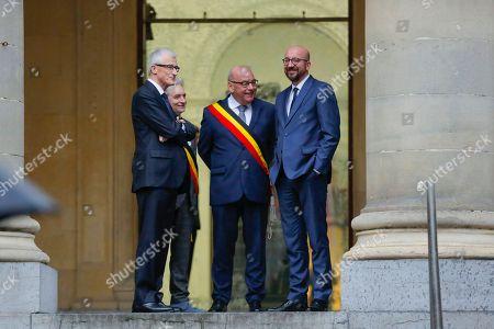 Geert Bourgeois, Daniel Termont, Charles Michel