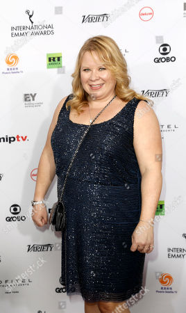 US television producer Julie Plec arrive for the 46th International Emmy Awards Gala at the New York Hilton hotel in New York, New York, USA, 19 November 2018.