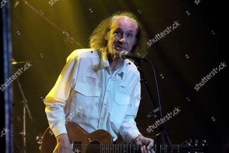 John Otway performing at The Haunt, Brighton, UK on 7th October 2018 as support on Jilted John's 40th Anniversary tour