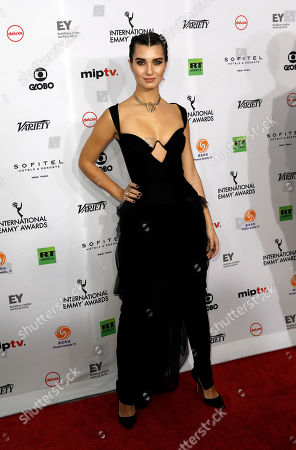 Editorial picture of Arrivals - 46th International Emmy Awards Gala, New York, USA - 19 Nov 2018