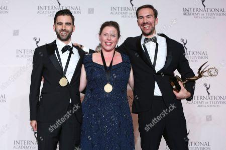 Editorial picture of 2018 International Emmy Awards, New York, USA - 19 Nov 2018