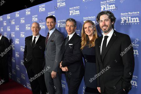 Stock Image of JK Simmons, Hugh Jackman, Ben Mendelsohn, Helen Estabrook, Jason Reitman